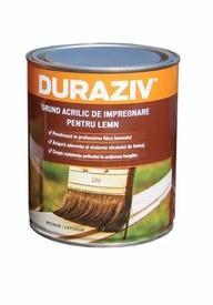 Grund acrilic de impregnare pentru lemn, incolor - 4 L