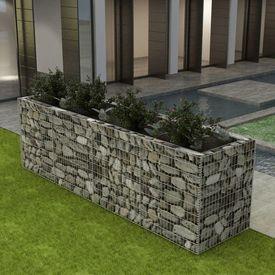 Jardinieră pentru plante, oțel, 360x90x100 cm