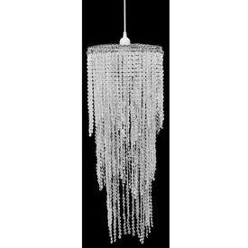 Lampă de tavan cu cristale  26 x 70 cm