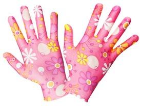 Manusi Gradina Motiv Floral ( Roz ) - 673736