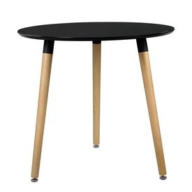 Masa design rotund - ø 80 cm 3 persoane