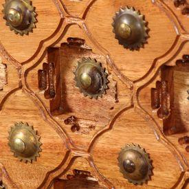 Măsuță de cafea, 110 x 60 x 40 cm, lemn masiv de acacia