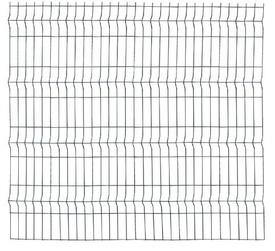 Panou Bordurat Zincat pt Gard - 2x1.2 - 673978
