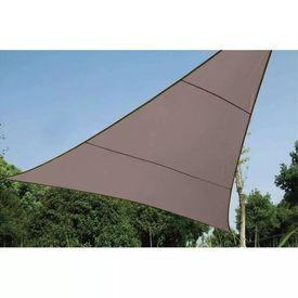 Perel Pânză parasolar, gri taupe, 5 m, triunghiular, GSS3500TA