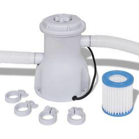 Pompă cu filtru pentru piscină 1135 L/h