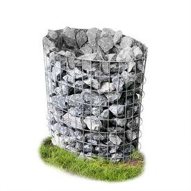 [pro.tec]® Gabion - oval cos piatra decoratie