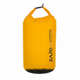 Sac impermeabil Zajo Compress Drybag 15 litri Culoare Galben