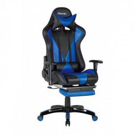 Scaun gaming GN90 Suzuka negru - albastru