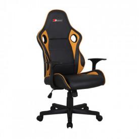 Scaun gaming SL Carrera negru - galben