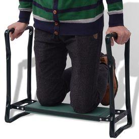 Scaun/suport pentru genunchi 60 x 25 x 48 cm, verde