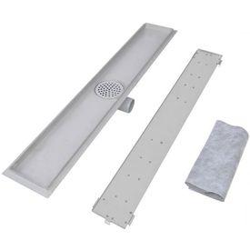 Scurgere duș liniară din oțel inoxidabil 830 x 140 mm