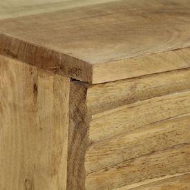 Servantă, 60x35x75 cm, lemn masiv de mango