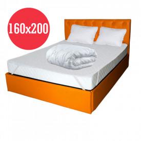 Set Avantaj Saltea Pegas Comfort Flex 160x200 plus 2 perne plus Husa hipoalergenica plus Pilota iarna microfibra 180x200