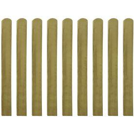 Șipci de gard din lemn tratat, 20 buc., 100 cm, lemn FSC