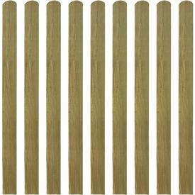 Șipci de gard din lemn tratat, 20 buc., 120 cm, lemn FSC
