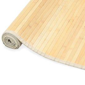 vidaXL Covor din bambus, natural, 150 x 200 cm