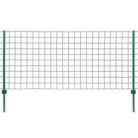 vidaXL Set de gard Euro, 20 x 0,8 m, oțel, verde