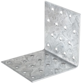Vinclu Placa Perforata de Imbinare Lemn - 100x100x80x2 - 649208