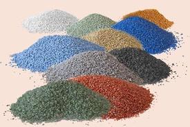 Nisip de cuart colorat 25 kg