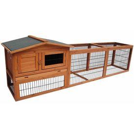 FLAMINGO Cușcă de iepuri Sunshine Jumbo, 230 x 53 x 70 cm, 200076