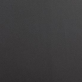 Pat cu saltea, negru și alb, 180 x 200 cm, piele ecologică