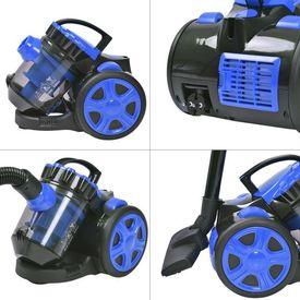 Aspirator Multicyclone fără sac pentru podea și covor albastru
