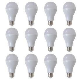 Becuri LED cu Lumină Alb Cald 12 buc 9 W E27
