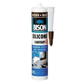 BISON Silicon Sanitar maro 280ml