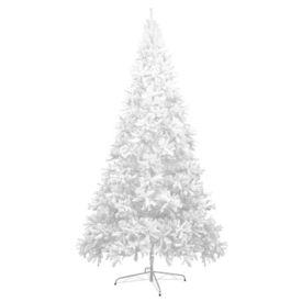 Brad de Crăciun artificial, XXL, 400 cm, alb