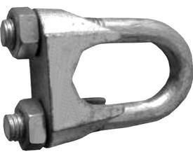 Brida Cablu DIN 741 - 10x8  - 651045