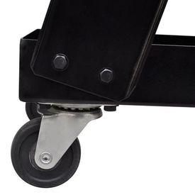 Cărucior pentru echipament sudură cu 3 rafturi