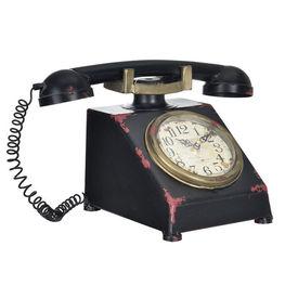 Ceas design stativ - Model 28 Telefon, metal/plastic, 33 x 20 x 19 cm, multicolor