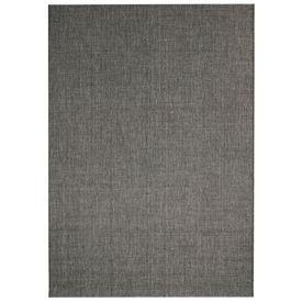 Covor aspect sisal de interior/exterior, 180x280 cm, gri închis