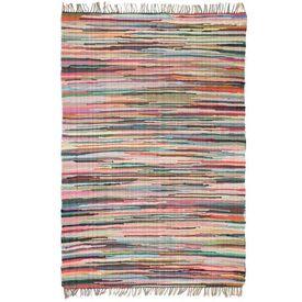 Covor Chindi țesut manual, bumbac, 160 x 230 cm, multicolor
