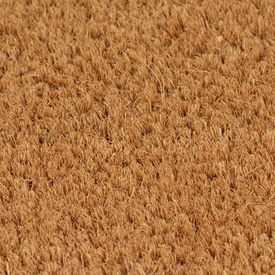 Covor intrare, fibră nucă cocos 17 mm, 80x100 cm Natural