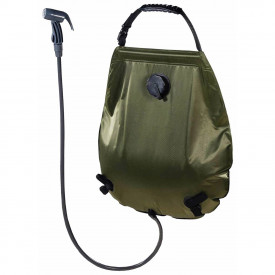 Dus solar camping portabil deluxe 20 litri cu termometru