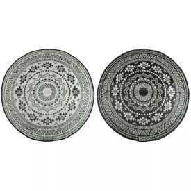 Esschert Design Covor de exterior, alb și negru, 180 cm, OC18