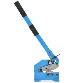 Foarfecă cu pârghie pentru metal, 125 mm, Albastru