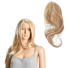 [in.tec]® Peruca efect natural HTPR-6671, 61 cm, fire sintetice kanekalon, blond