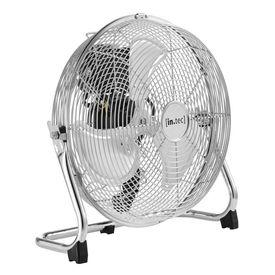 [in.tec]® Ventilator de masa HTVF-7684, 3 trepte viteza, ø30 cm, 55W, argintiu, inclinare reglabila