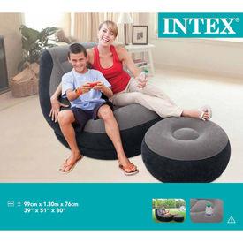 Intex Scaun gonflabil cu taburet Ultra Lounge Relax, 68564NP