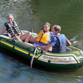 Intex Set cu barcă gonflabilă Seahawk 3, 295 x 137 x 43 cm, 68380NP