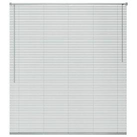 Jaluzele de fereastră din aluminiu 80 x 220 cm, argintiu