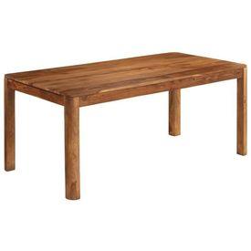 Masă de bucătărie, lemn masiv de sheesham, 180 x 90 x 76 cm