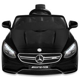 Mașinuță electrică Mercedes Benz AMG S63, negru, 12 V