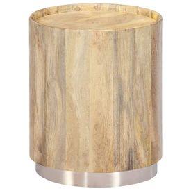 Măsuță de cafea, 38x45 cm, lemn masiv de mango