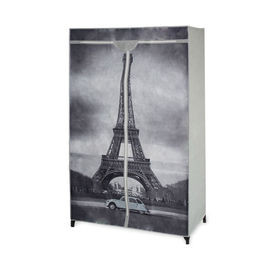 """[neu.holz]® Dulap haine - dulap depozitare textile """"turnul Eiffel"""""""