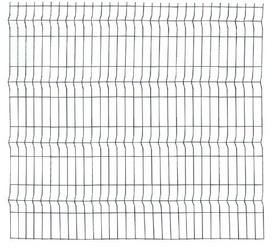Panou Bordurat Zincat pt Gard - 2.5x1.7 - 653093