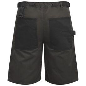 Pantaloni scurți de lucru pentru bărbați, mărime M, gri