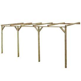 Pergolă din lemn 2 x 5 x 2,2 m